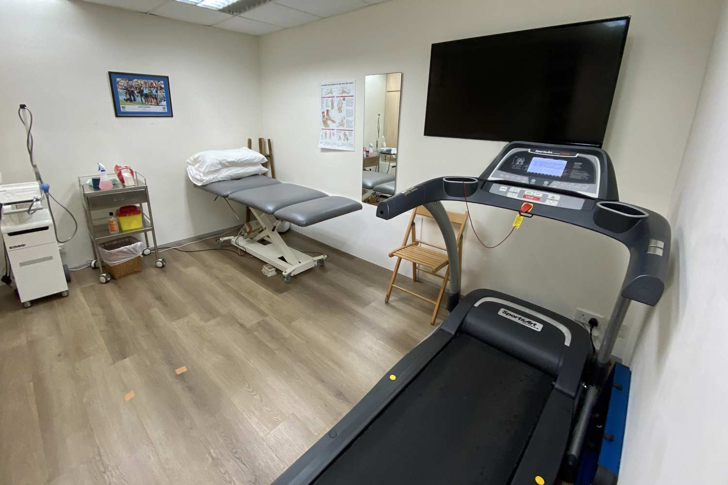 Physio Central Assessment Room